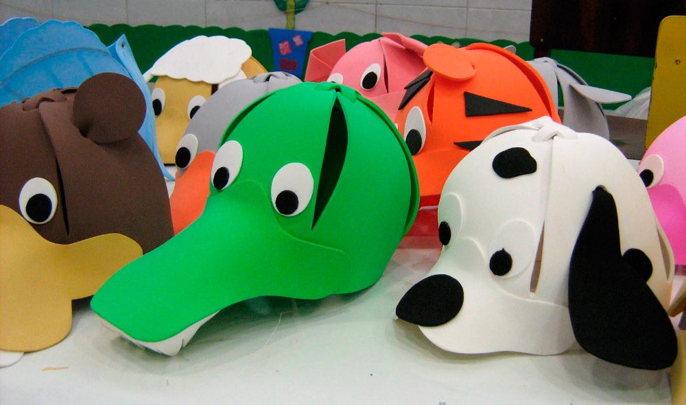 Animales de goma eva - Dibujos en goma eva ...
