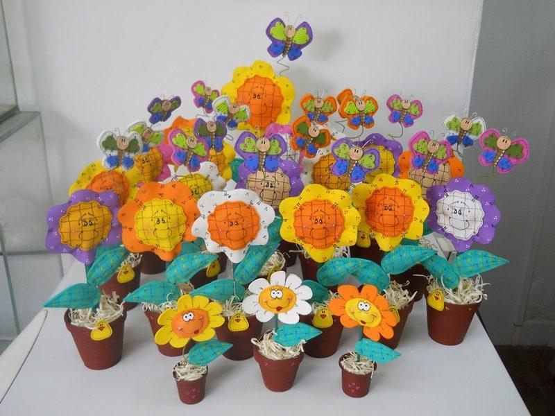 galería de imágenes: flores de goma eva
