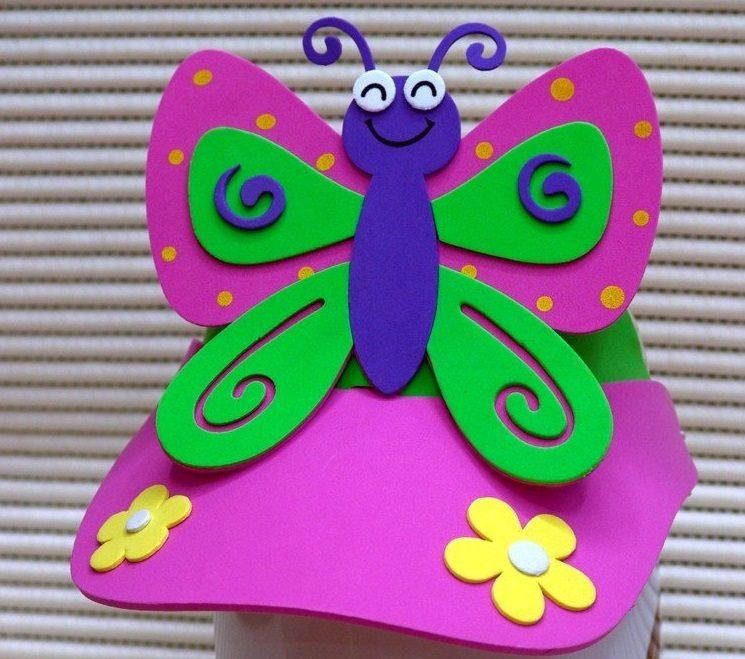 Galer a de im genes mariposas de goma eva - Dibujos en goma eva ...