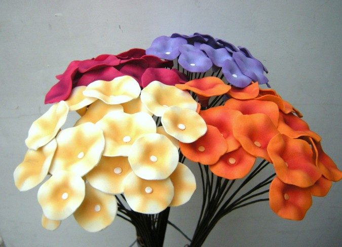 Galer a de im genes flores de goma eva - Flor de goma eva ...