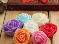 c1f6f17b55f Rosas de colores Goma Eva ...